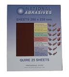 Red Aluminium Oxide<br>280mm x 230mm<br>Quires