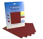 Red Aluminium Oxide<br>280mm x 230mm<br>5 Pack