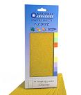 Yellow Aluminium Oxide<br>115mm x 280mm<br>5 Pack