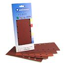 Red Aluminium Oxide<br>115mm x 280mm<br>5 Pack